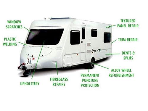 Caravan/Motor Home Repairs - Elder & Paton